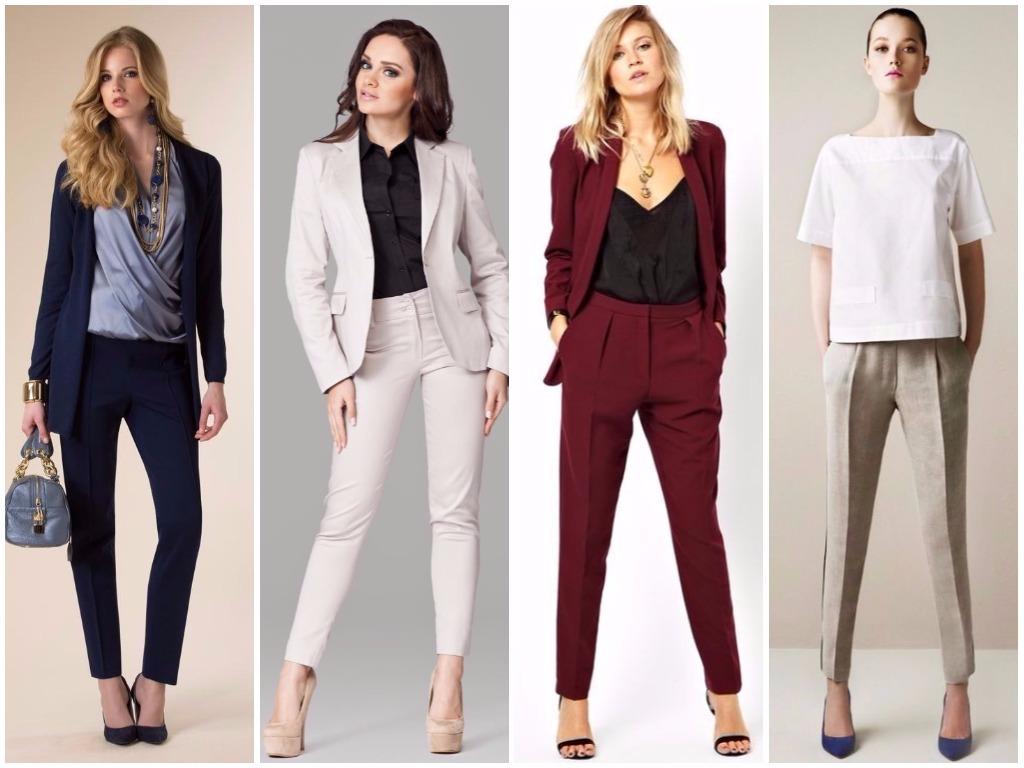 Женские брюки на осень 2018