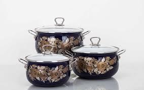 История эмалированной посуды