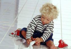 Детским ножкам нужна забота