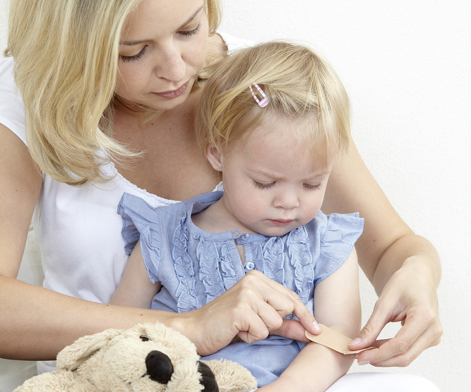 Уход за ребенком больным гемофилией