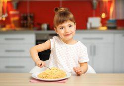 Макароны в питании ребенка