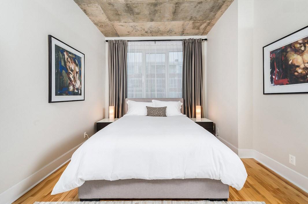 Как визуально увеличить внутреннее пространство спальной комнаты?