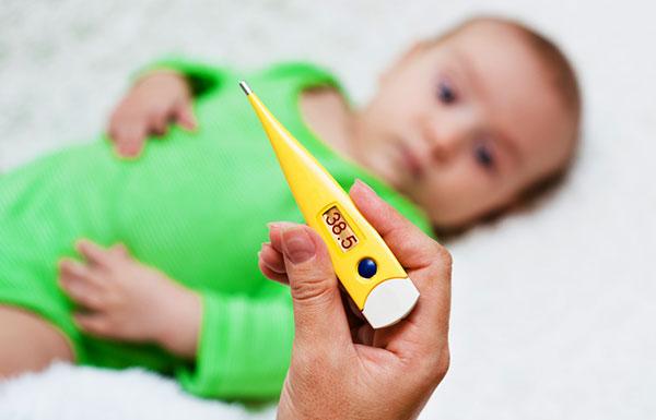 Что делать, если у ребенка поднялась температура