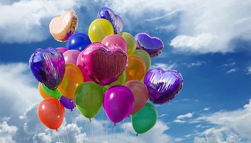 Яркий латексный воздушный шар: искристое настроение на любой праздник