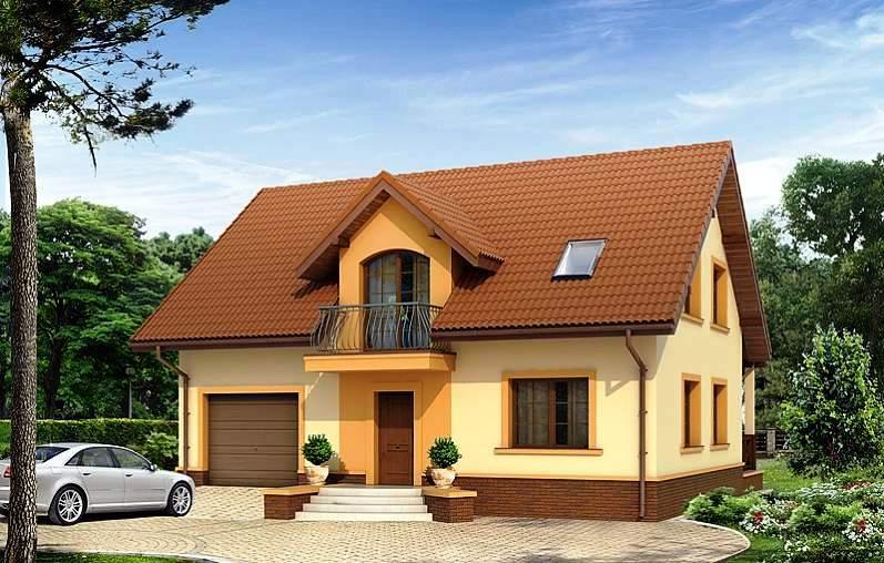 Строительство дома с мансардой