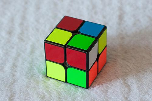 Как легко собрать легко кубик Рубика 2х2х2