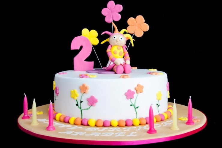 Красивый детский торт на заказ в Киеве от лучшей кондитерской Candy World