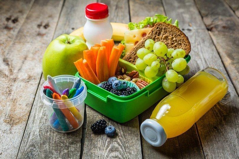 Школьный завтрак для гения