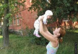 Жара и маленький ребёнок