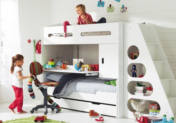 Секреты выбора кровати для трехлетнего ребенка