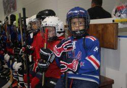 Детские щитки для хоккея