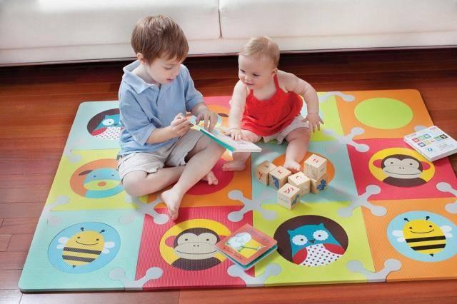 Современные коврики для детей ЭВА и их особенности.
