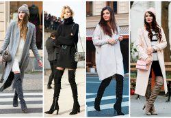 Ботфорты – как и с чем носить?