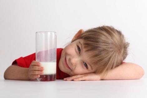 Пастеризованное молоко для детей