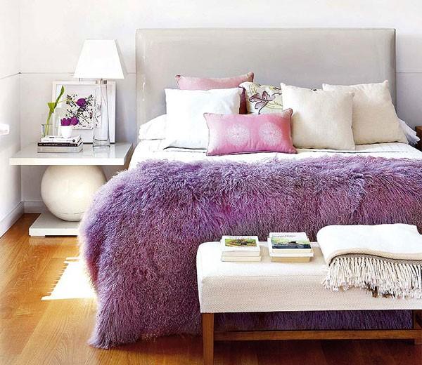 Покрывало на кровать как гармоничный элемент дизайна