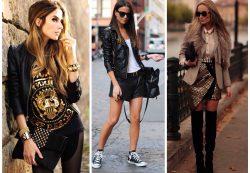 Как создать модный образ в стиле панк