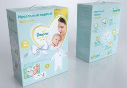 Идеальный первый подарок для новорожденных от PAMPERS