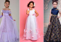 Выбор нарядного платья на выпускной бал в детском саду