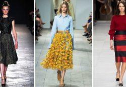 Гофрированная юбка в гардеробе современной модницы