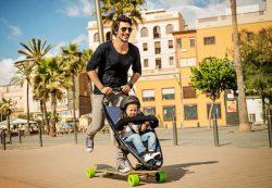 Лонгборд — фантастическая коляска для малышей