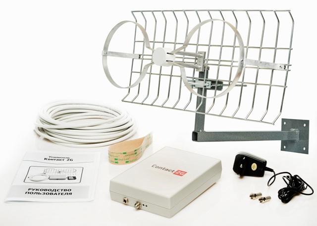 Усиление сотового сигнала в помещении