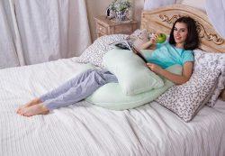 Подушка для беременных в «Fluffy Pillow»