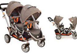 Особенности выбора коляски для двойни