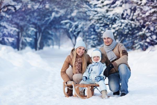 Собираем ребенка на зимнюю прогулку