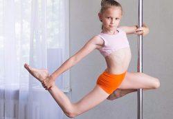 Детский Pole Dance — особенности и возможности для ребенка
