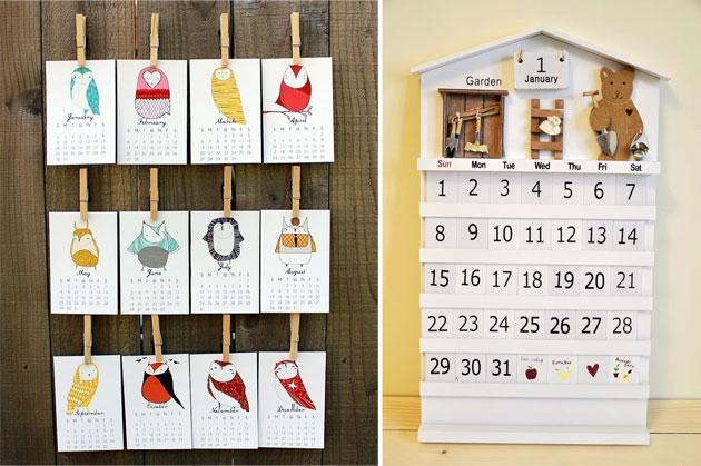 Делаем настенный календарь своими руками