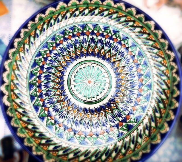Узбекская посуда: красота и практичность