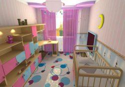 Как обставить детскую комнату?
