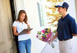Доставка цветов или почтальоны счастья