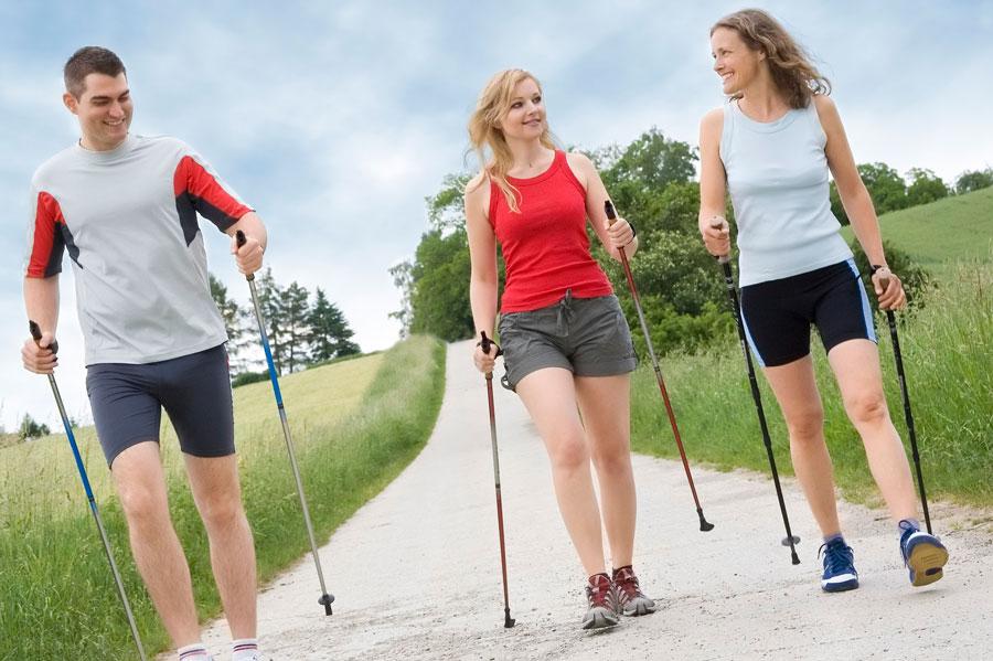 Скандинавская ходьба и профилактика сердечно-сосудистых заболеваний