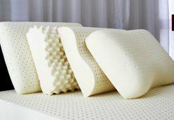 Достоинства латексных, ортопедических подушек