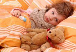 Герпетическая ангина у ребенка