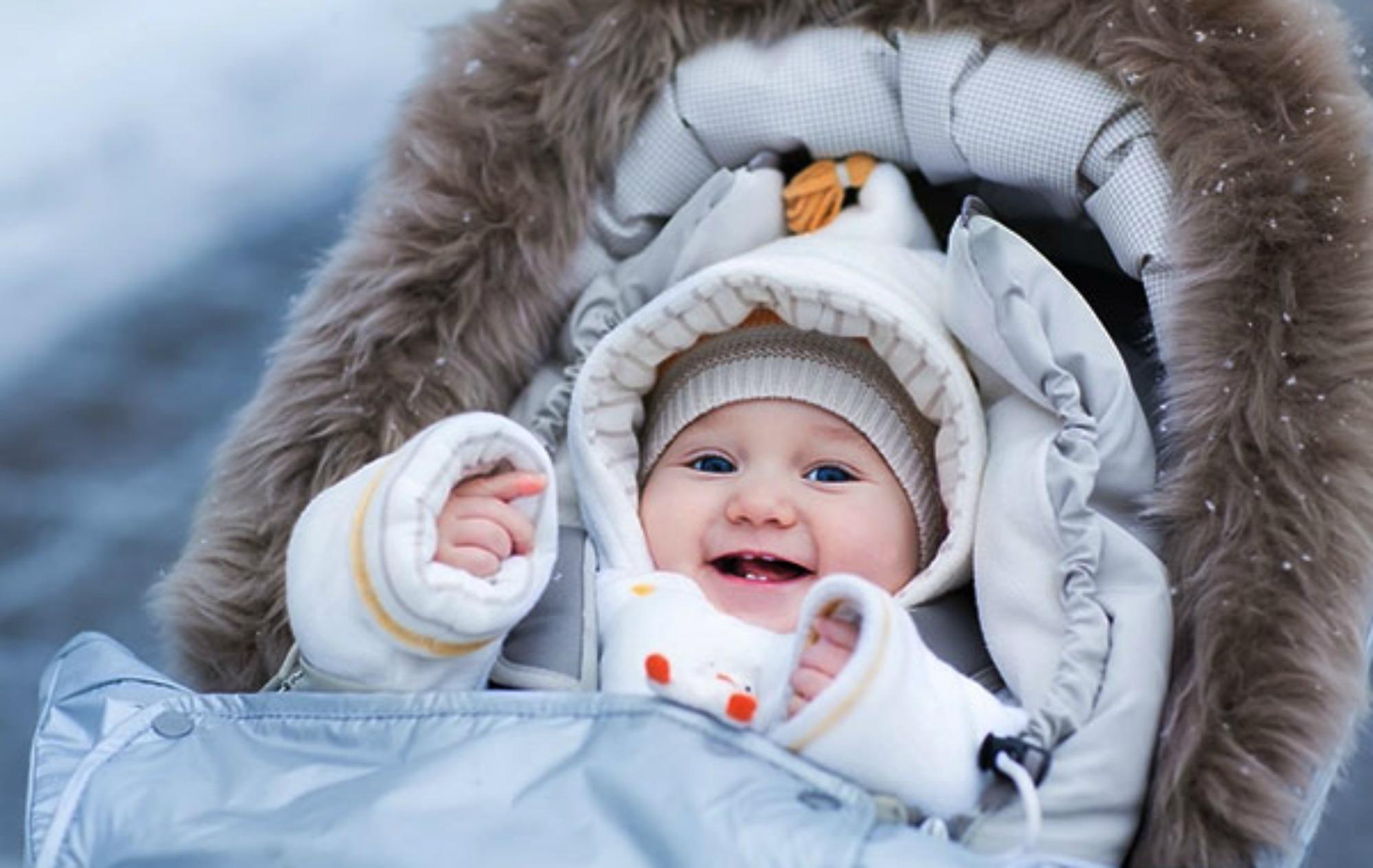 Как одевать ребенка в холодное время года?