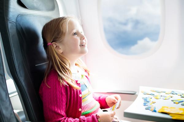 Перелет с детьми в самолете