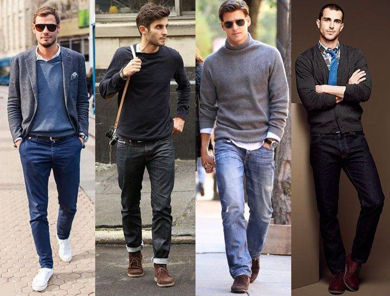 Повседневно-деловой стиль для мужчин или как одеваться на работу