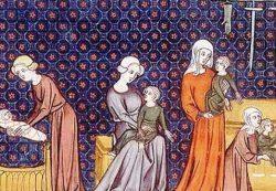 Дети в Средневековье