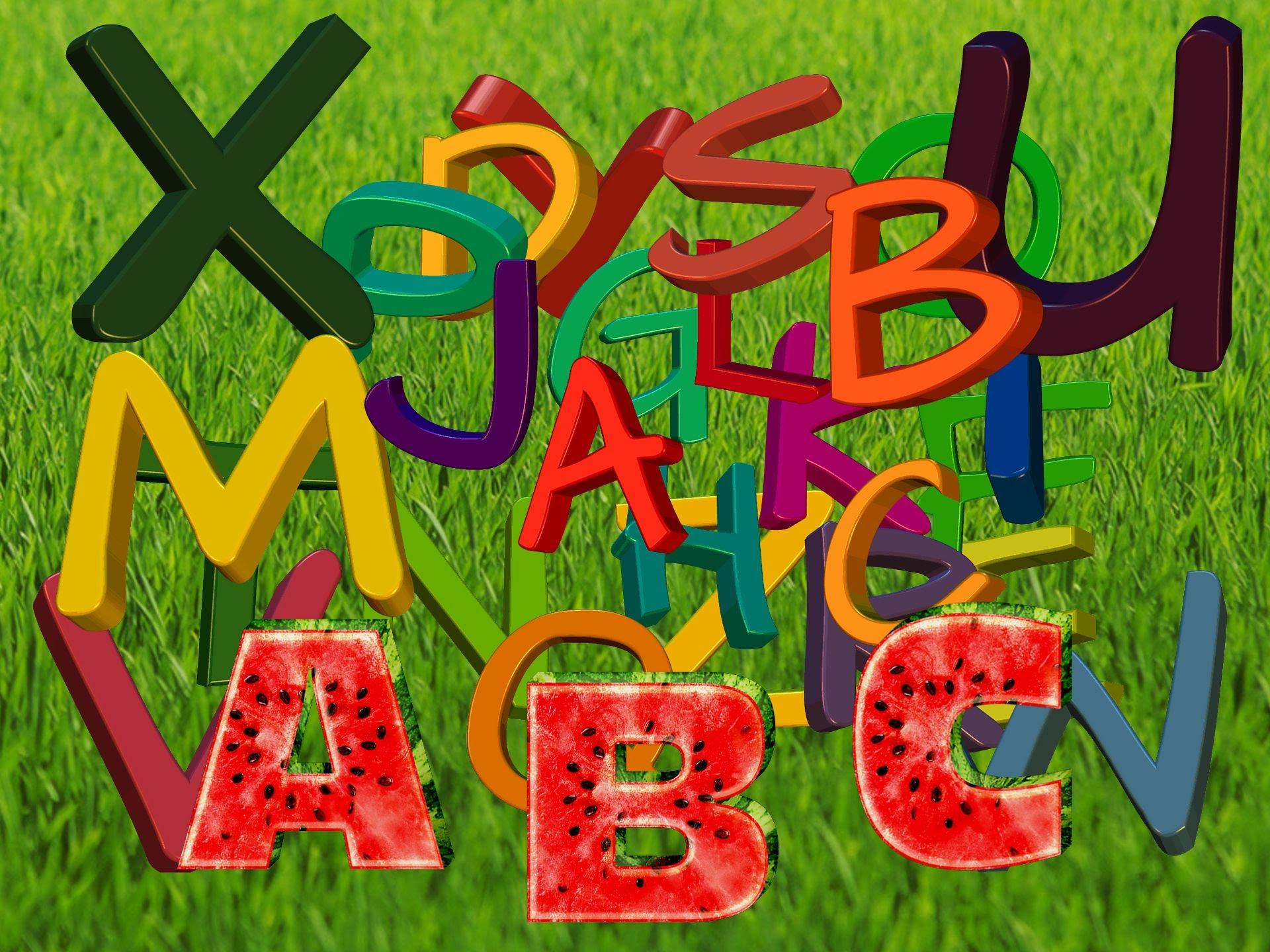 Алфавит: Каждый язык имеет свои правила