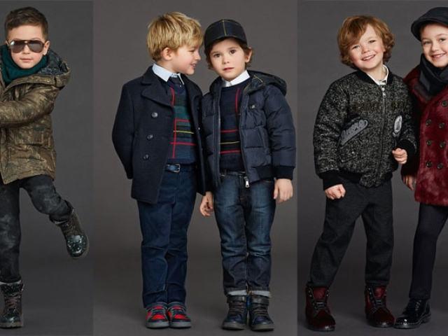 Тенденции в детской моде этой зимой
