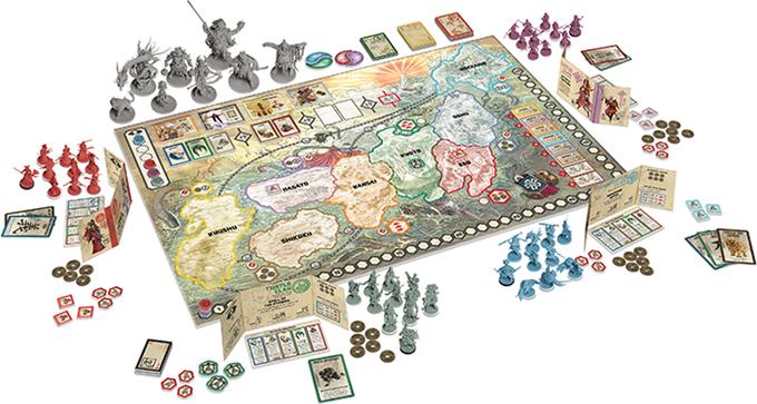 Лучшие настольные игры от компании Lord of boards