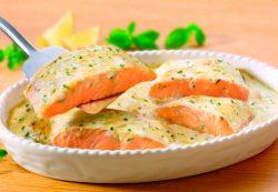 Семга в сливочном соусе — 4 вкусных рецепта