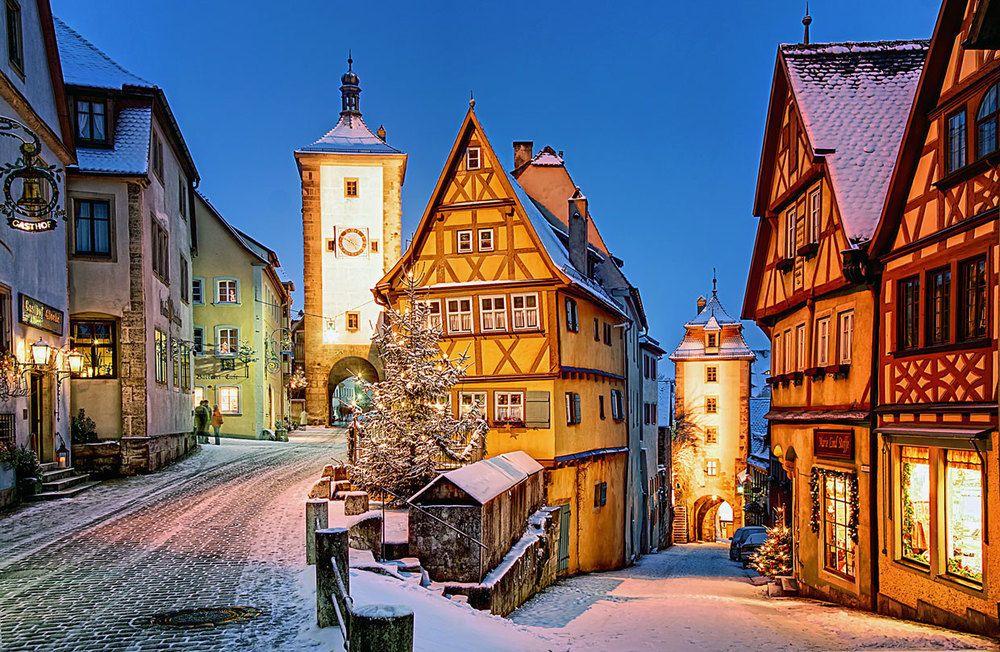 Куда поехать отдыхать зимой?