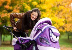 Когда можно выходить с ребенком на улицу после родов зимой