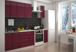 Приобретение кухонь с фасадами на заказ