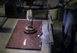 Как выполняется полировка гранита