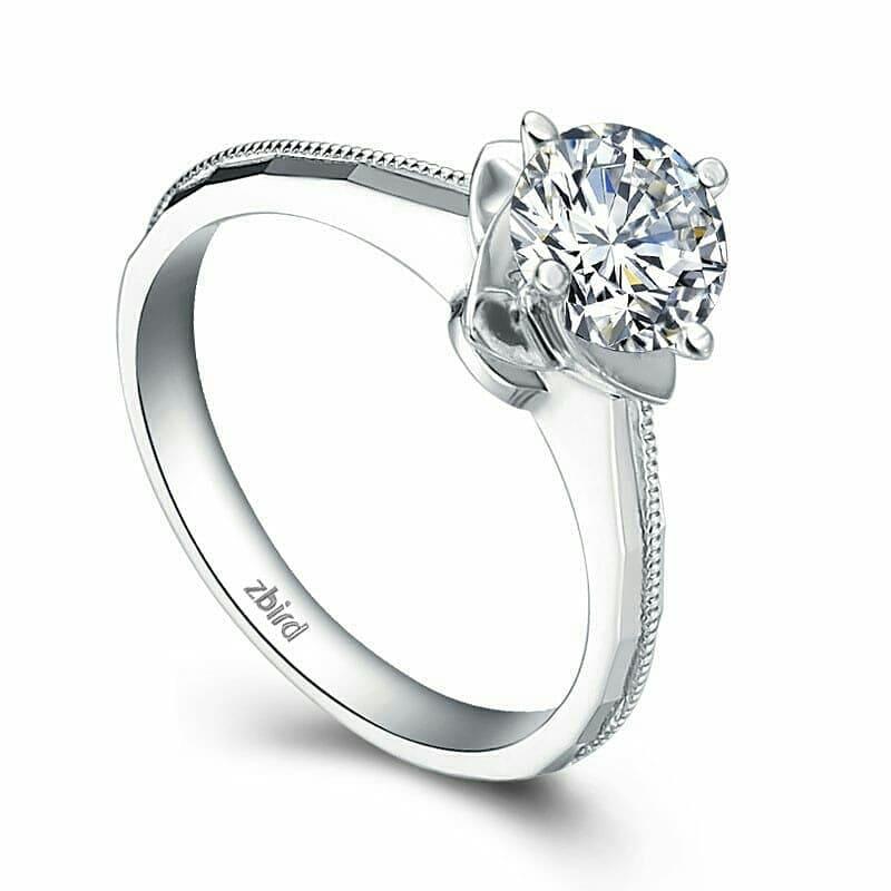 Платиновые кольца с бриллиантами