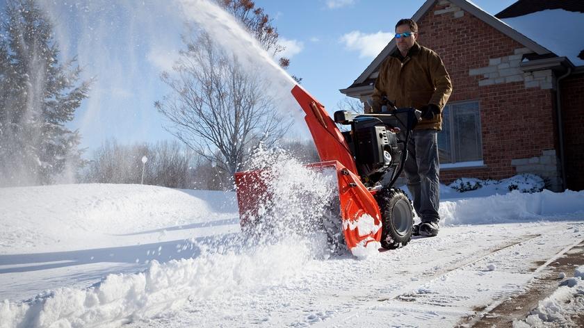 Виды бензиновых снегоуборочных машин